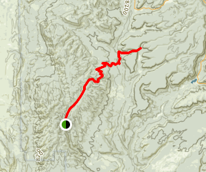 Jemez Mountains Trail Map