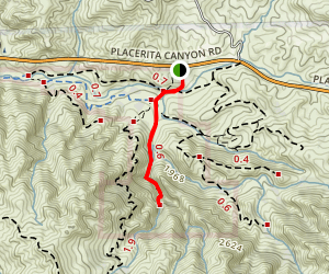 Waterfall Trail [CLOSED] Map