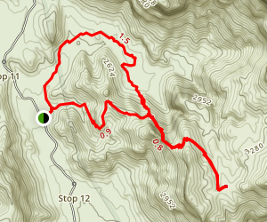 Bull Pasture Trail Map