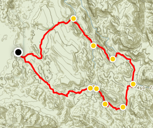 Calvary Trail Map