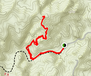 Red Rock Creek Trail Map