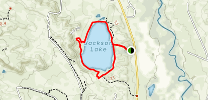 Jackson Lake Trail Map