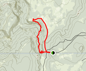Los Indios Canyon Map