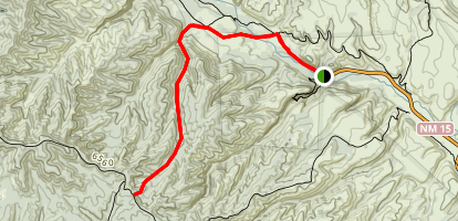 EE Canyon Trail Map