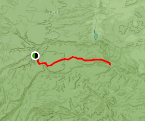Iron Creek Mesa Trail Map