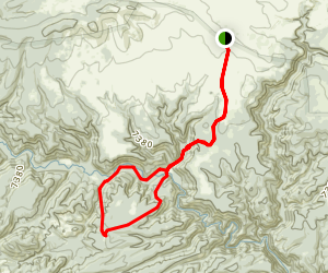Flying V Trail Map