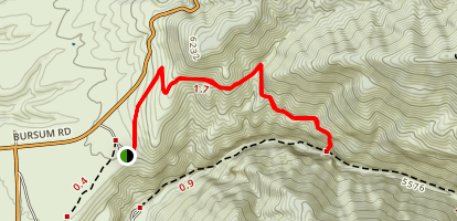 Gold Dust Trail Map