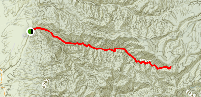 Whitewater Trail Map