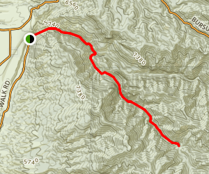 South Fork Trail Map