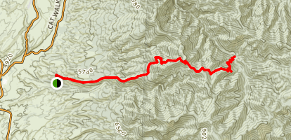 Little Whitewater Trail Map