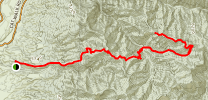 Skeleton Ridge Trail Map