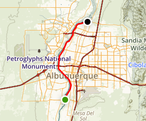 Bosque Trail Map