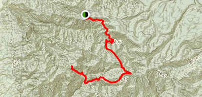 Golden Link Trail Map