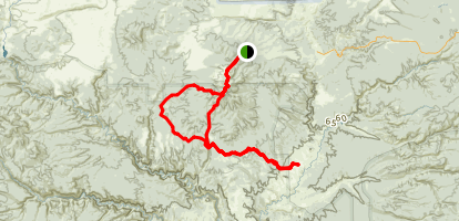 Greenfly Loop Trail Map