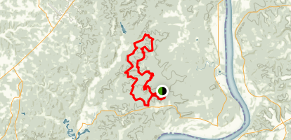 German Ridge Trail Map