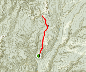 Jack's Creek Trail Map