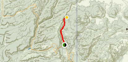 San Antonio Canyon Map
