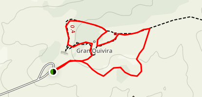 Gran Quivira Mission Map