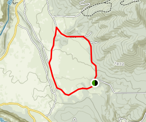 Red River Fault Loop Trail Map