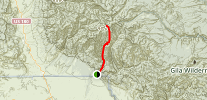 Rain Creek Divide Trail Map
