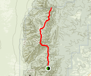 Manzano Crest Trail Map