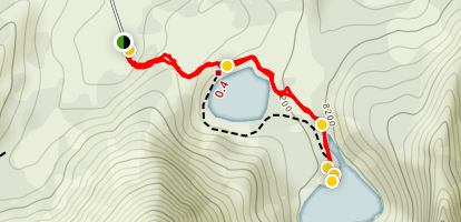 Bloomington Lake Trail Map