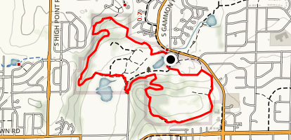 Elver Park Outer Loop Map