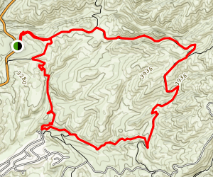 Corrals - Bob's Trail Loop Map