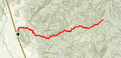 Fisher Creek Trail Map