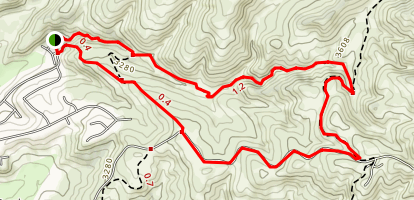 Shingle Creek Ridge Loop Map