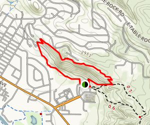 Castle Rock Loop Map