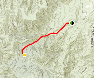 Gibson Jack Trail Map