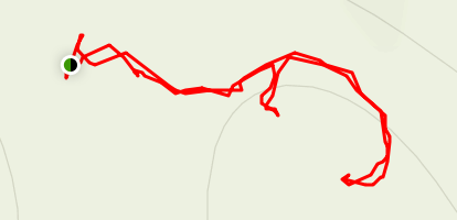 Paige Falls & Broadwater Hollow Trail Map