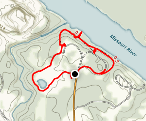 Fort Bellefontaine Loop Trail Map