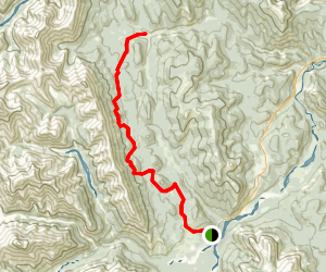 Ford Creek Trail (south) Map