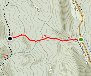Trail Creek Connector (West) Map