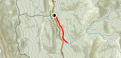 Trail Creek Connector (East) Map