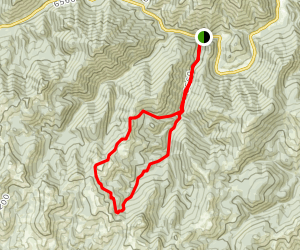 Red Warrior Creek Trail Map