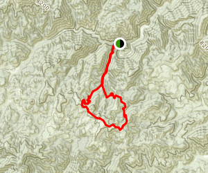 Red Warrior to Mars Ridge Map