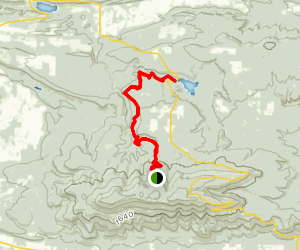 Cove Lake Via Mt. Magazine Trail Map