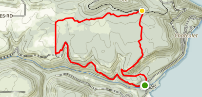 Whitetail Loop Trail Map