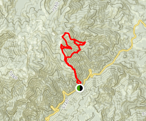Mores Creek Summit Mountain Bike Loop Map