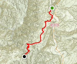 Hell's Canyon Map