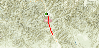 Wood River Trail: Ketchum to Hailey Map
