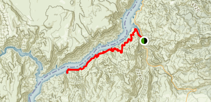 Brownlee River Trail Map