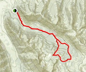 Lake Creek (Copper Basin) Trail Map