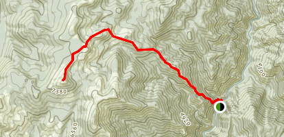 Spot Mountain Trail Map