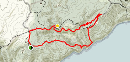 Deep Creek Trail Map