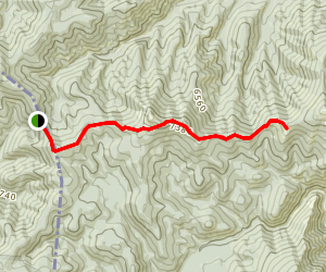 South Route Old Nez Perce Trail Map