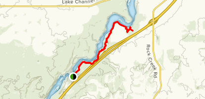 Snake River Walk: Canyon and Wagon Rut Trails Map